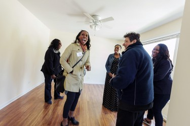 Visitors to a Habitat Chicago home think affordability is tops