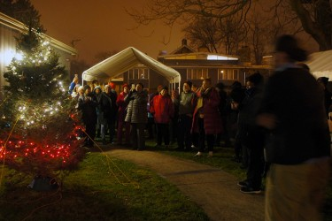West Pullman annual tree lighting, organized by the West Pullman Community Action Group