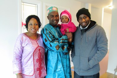 Family enjoys the benefits of affordable homeownership
