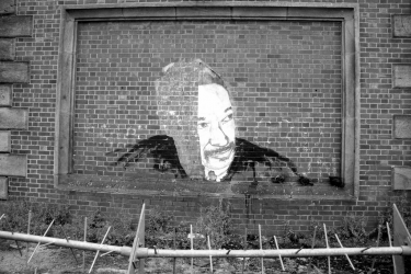Martin Luther King Street Art Portrait