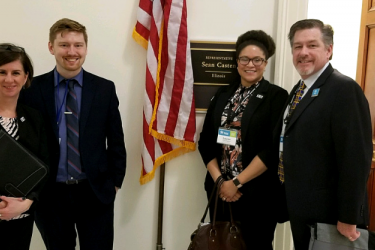 Habitat Chicago representatives advocate for affordable housing in Washington, D.C.