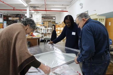 Chicagoans attend a DIY home care workshop at ReStore Chicago